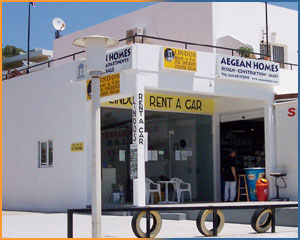 Lindos Rent a Car & Aegean Homes