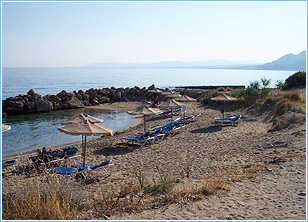 A.G. Thomas Beach, 40m from George Studios, Pefkos